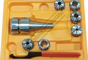 NT30 x ER32 Collet & Chuck Set - 8 Piece Collet Range Ø6 - Ø20mm