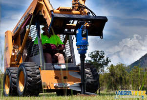 New Auger Torque Auger Drive - 3500MAX (S4) Earth Drill to suit 2.5-4.5T Excavator