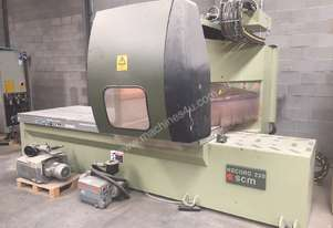 SCM Record 220 flatbed CNC router