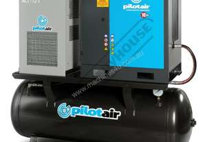 PAC7.5-RM-D Rotary Screw Air Compressor 1002L/Min. 35.3CFM @ 10 Bar Includes Integrated Air Dryer