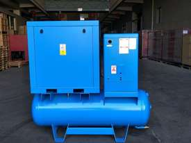FOCUS INDUSTRIAL 40 CFM/10hp Rotary Screw Compressor w/ Integrated Air Receiver Tank.  - picture0' - Click to enlarge