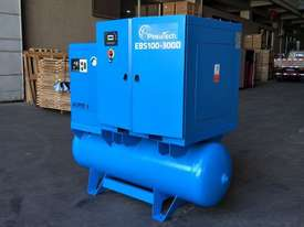FOCUS INDUSTRIAL 40 CFM/10hp Rotary Screw Compressor w/ Integrated Air Receiver Tank.  - picture2' - Click to enlarge