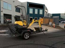 Wacker Neuson 803(1T) Excavator with Trailer - picture0' - Click to enlarge