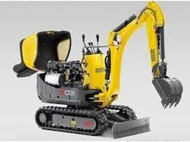 Wacker Neuson 803(1T) Excavator with Trailer - picture3' - Click to enlarge