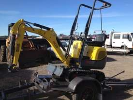 Wacker Neuson 803(1T) Excavator with Trailer - picture6' - Click to enlarge