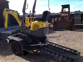 Wacker Neuson 803(1T) Excavator with Trailer - picture7' - Click to enlarge