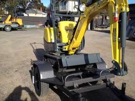 Wacker Neuson 803(1T) Excavator with Trailer - picture8' - Click to enlarge