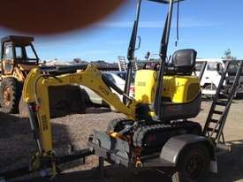 Wacker Neuson 803(1T) Excavator with Trailer - picture11' - Click to enlarge