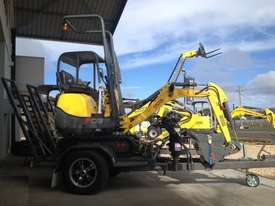 Wacker Neuson 803(1T) Excavator with Trailer - picture12' - Click to enlarge