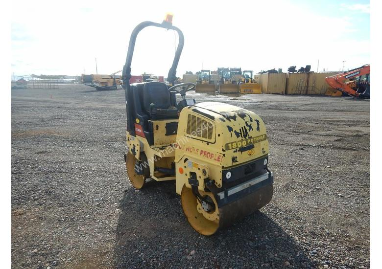 2010 Used Dynapac CC900G Double Drum Vibrating Roller