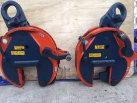 CROSBY IP10 12TON VERTICLE LIFTING CLAMPS x2 (sale includes 2 clamps!) - picture3' - Click to enlarge