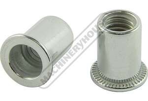 N018 Aluminium Nut Rivets - 50 Pack  M8 x 1.25mm