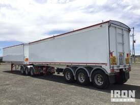 2013 Gippsland Body Builders Tri/A Sliding B-Double Tipping Combination - picture2' - Click to enlarge