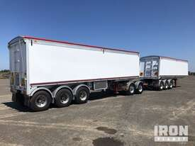 2013 Gippsland Body Builders Tri/A Sliding Road Train Tipping Combination - picture3' - Click to enlarge