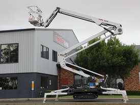 PB2210 Evo - 22m Crawler Mounted Spider Lift - picture0' - Click to enlarge