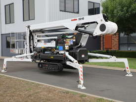 PB2210 Evo - 22m Crawler Mounted Spider Lift - picture9' - Click to enlarge