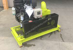 Diesel irrigation pump set