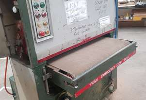 Anderson 900mm wide belt sander