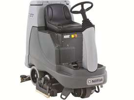 Nilfisk BR755 C Ride On Scrubber Dryer - picture2' - Click to enlarge