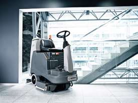 Nilfisk BR755 C Ride On Scrubber Dryer - picture0' - Click to enlarge