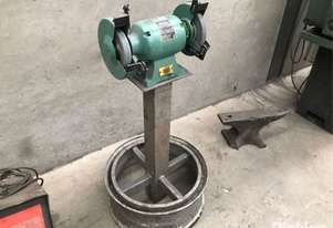 200mm Dual Bay Bench Grinder, Abbot & Ashby ATBG600/8