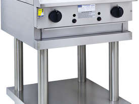 600mm Chargrill with legs & shelf - picture0' - Click to enlarge