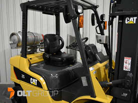 CAT Forklift GP25N 2.5 Tonne Dual Fuel Petrol/LPG Container Mast Low Hours - picture8' - Click to enlarge