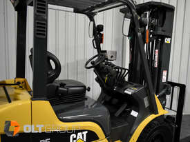 CAT Forklift GP25N 2.5 Tonne Dual Fuel Petrol/LPG Container Mast Low Hours - picture9' - Click to enlarge