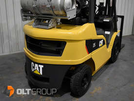 CAT Forklift GP25N 2.5 Tonne Dual Fuel Petrol/LPG Container Mast Low Hours - picture10' - Click to enlarge
