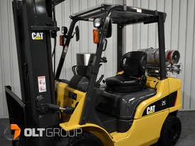 CAT Forklift GP25N 2.5 Tonne Dual Fuel Petrol/LPG Container Mast Low Hours - picture13' - Click to enlarge