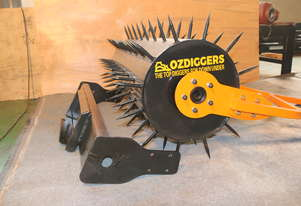 Rotary Cultivator Attachment for mini loader - suits most brands