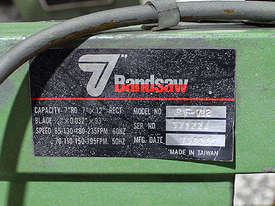 Toolmaster RF 712 Horizontal Bandsaw - picture2' - Click to enlarge