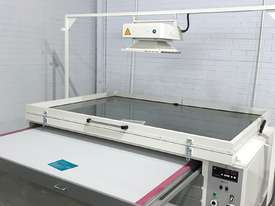 Screen print vacuum exposure unit - printer - washout booth - Decorative Glass Technology - picture0' - Click to enlarge