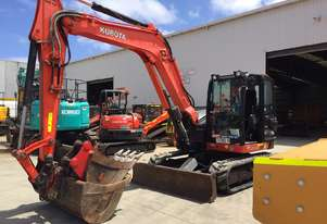 Used 2015 Kubota KX080 8 Tonne Excavator for sale, 2315.00 hrs - Melbourne VIC