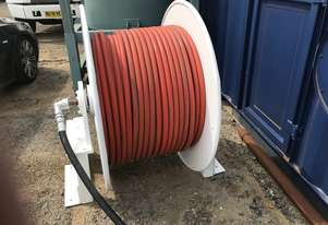 Controlled Hydraulics Sewer Cleaning Hose Reel