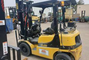 Good condition Yale 2.5T LPG forklift for sale or hire
