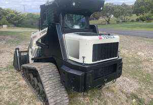Terex pt60 skid steer with tilt angle bucket