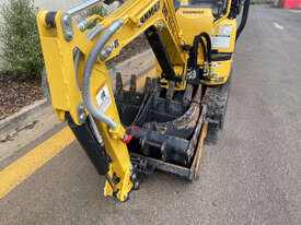 Yanmar VIO12 Tracked-Excav Excavator - picture1' - Click to enlarge