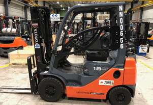 Toyota 1.8 Tonne Flameproof Container Forklift in good condition