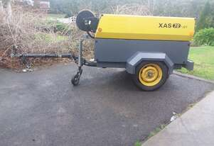 Atlas Copco Air Compressor Towable
