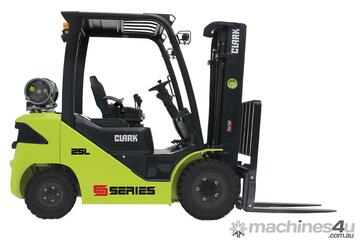 Premium 2.5t LPG Container Forklift - Plate Clearance