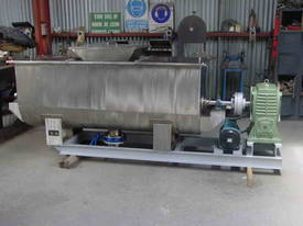 1000lt Ribbon Blender - picture0' - Click to enlarge