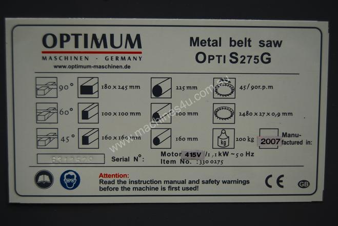 MACHTECH OPTIMUM 275. **Look at the features**