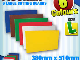 CUTTING BOARDS - SET OF 6 - LARGE