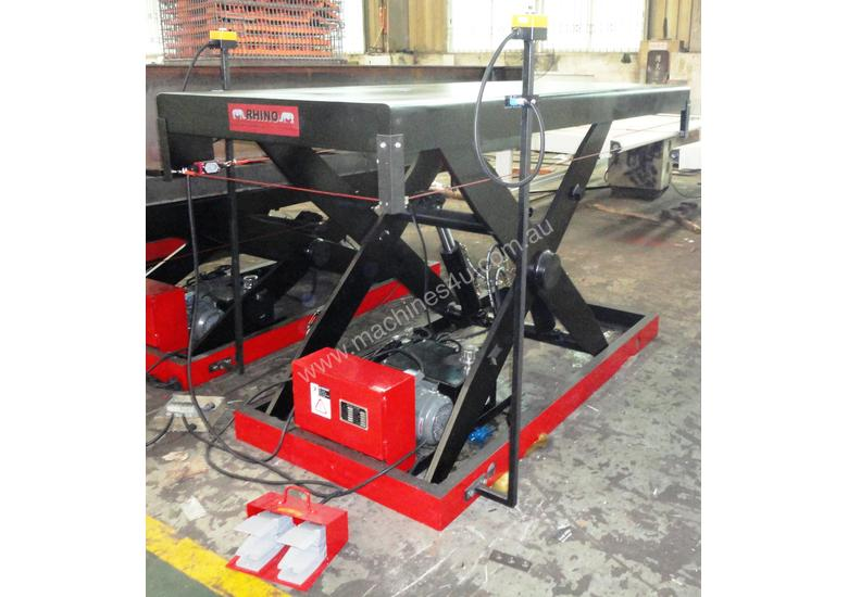 2T SCISSOR LIFTS 2400 x 1000