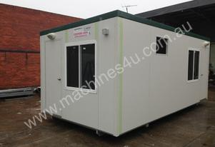 Or  6m X 3m Two Room Office