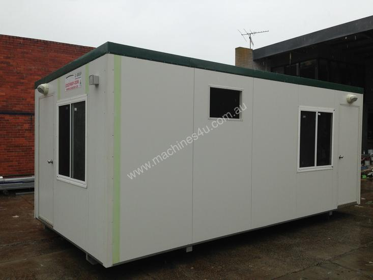 6m X 3m Two Room Office