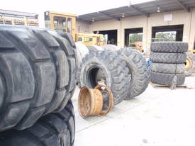 Quality Used Earthmoving Tyres