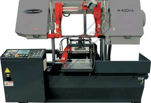 H-460HA-NC NC Double Column Metal Cutting Band Saw - Automatic Hitch Feed 480 x 460mm (W x H) Rectan