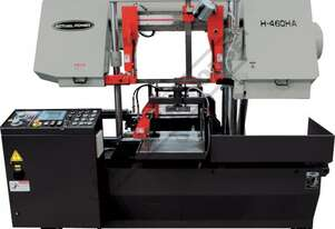 H-460HA-NC NC Double Column Metal Cutting Band Saw - Automatic Hitch Feed Includes Inverter Variable